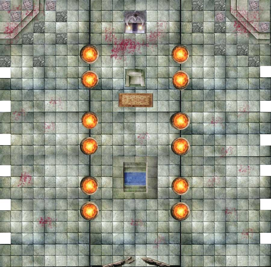 image relating to Printable Dungeon Tiles Pdf called Photoshop and Dungeon Tiles redux www. Beginner DM