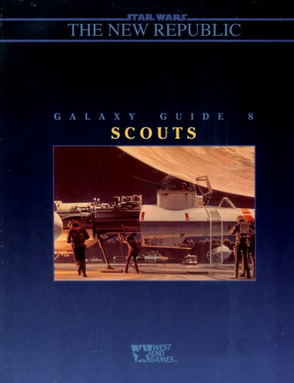 The Galaxy Guides had awesome LucasFilm art on the covers.