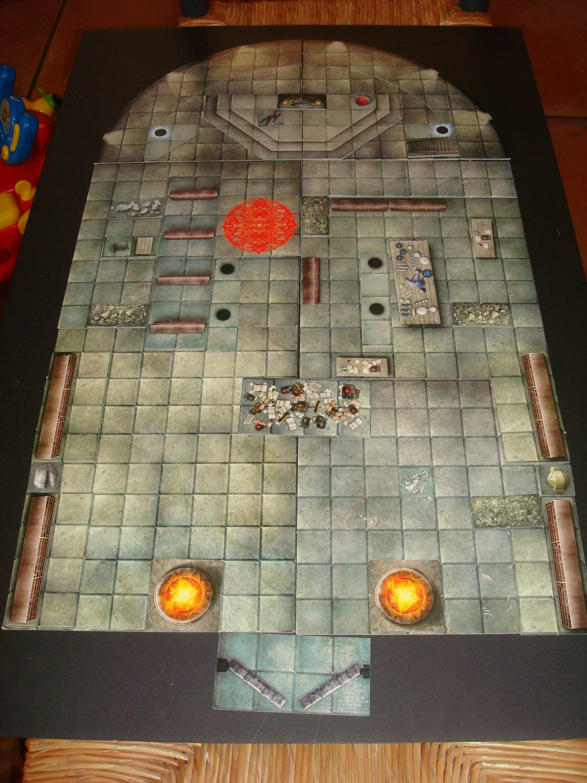 Playing With My Dungeon Tiles Www Newbie Dm Com