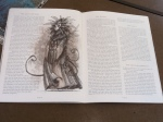 """The Lady of Pain as seen inside the """"Sigil and Beyond"""" book."""