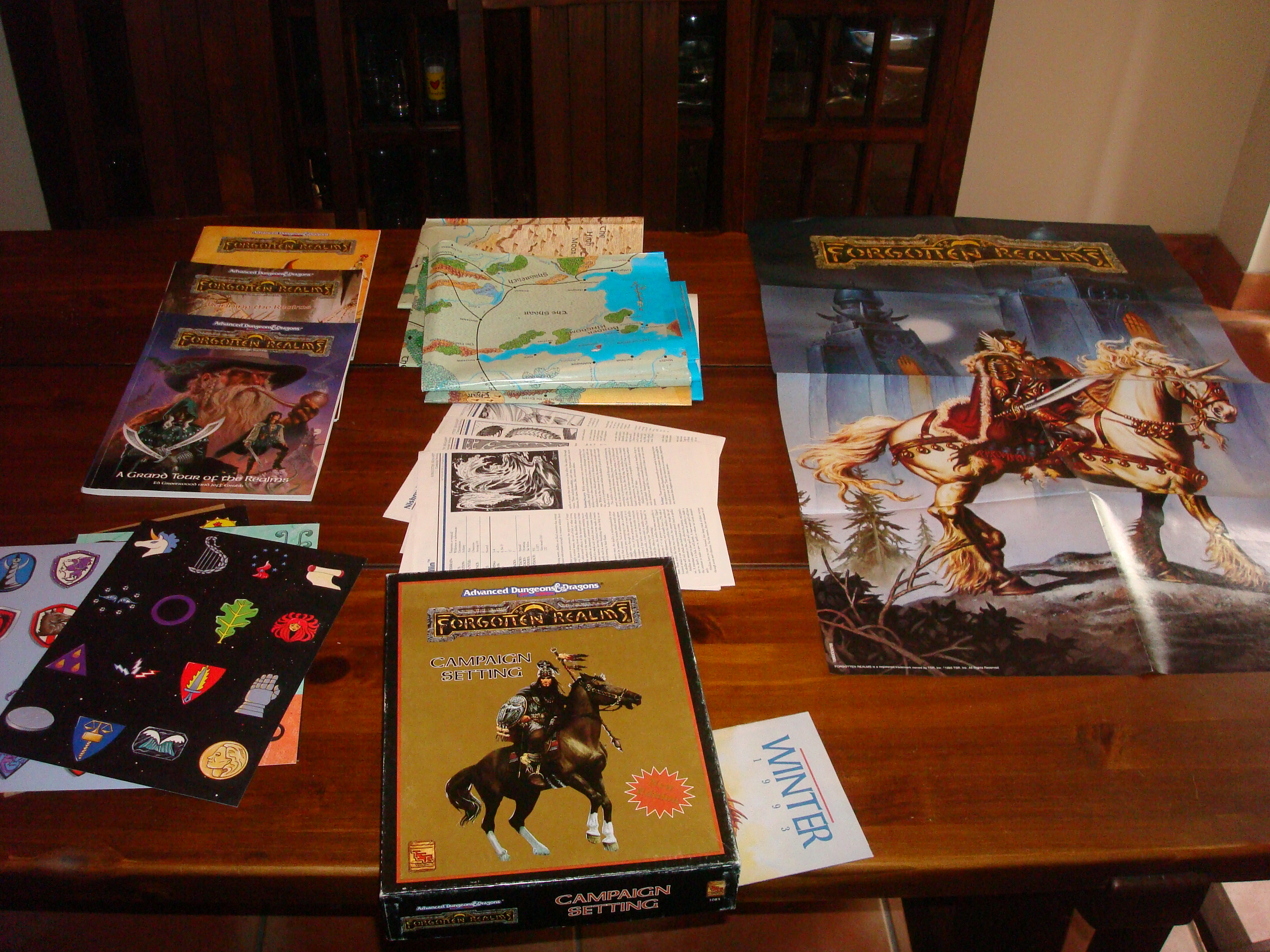 Classics Unboxed: Forgotten Realms Campaign Setting (2nd ed  AD&D