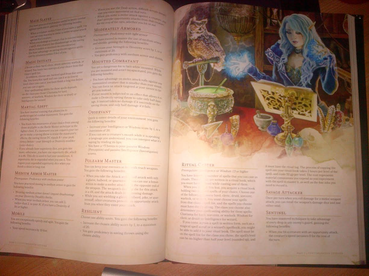 quick look at the dnd 5e player s handbook s part 1 www newbie dm com. Black Bedroom Furniture Sets. Home Design Ideas