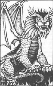 Dragonne as seen in the 1st ed. Monster Manual