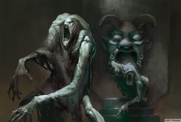 Green Devil Face